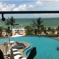 Photo taken at Sheraton Bali Kuta Resort by felicita c. on 1/27/2013