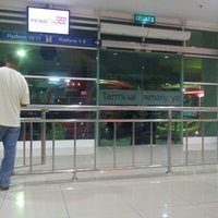 Photo taken at terminal bas amanjaya by Fendy A. on 7/12/2013