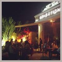Photo taken at Sensations Sushi Marbella by Lisa M. on 7/24/2013
