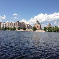 Снимок сделан в Оболонский пляж пользователем Алёна Ш. 7/5/2013