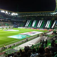 Photo taken at José Alvalade Stadium by Miguel T. on 3/2/2013
