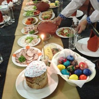 Photo taken at Будьмо (Bud'mo) Restaurant by Максим К. on 5/5/2013