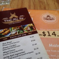 Photo taken at Thai Me Up by Evrhoy C. on 1/15/2015