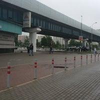 Photo taken at metro Ulitsa Gorchakova by ⚡Лана⚡ on 5/28/2013
