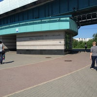 Photo taken at metro Ulitsa Gorchakova by ⚡Лана⚡ on 5/25/2013