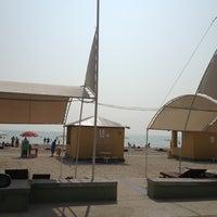 Photo taken at Пляж DOSTAR by Daniya R. on 8/12/2013