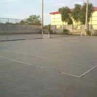 Photo taken at Anupuram Tennis Court by Atul V. on 6/8/2013