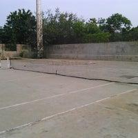 Photo taken at Anupuram Tennis Court by Atul V. on 12/6/2013