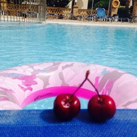 Photo taken at Cavo D'Oro Hotel by Katia K. on 6/3/2014