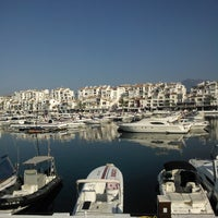 Photo taken at Puerto Banús by Katia K. on 7/21/2013