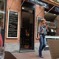 Photo taken at Flower's Café by Serkan T. on 5/31/2013
