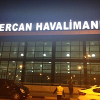 Photo taken at Ercan Airport (ECN) by Gokhan Y. on 3/7/2013