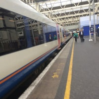 Photo taken at Platform 12 by Steve K. on 9/28/2014