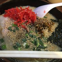 Photo taken at 博多ラーメン 長浜や 笹塚店 by NProject on 11/5/2015