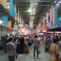 Photo taken at Old Bus Depot Markets by Chris D. on 1/13/2013