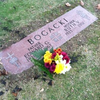 Photo taken at All Saints Cemetery by Megan B. on 11/11/2013