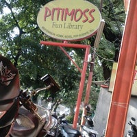 Photo taken at Pitimoss Fun Library by Leni L. on 12/16/2013