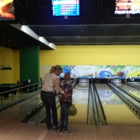 Photo taken at Bowling Show by Татьяна З. on 9/1/2014