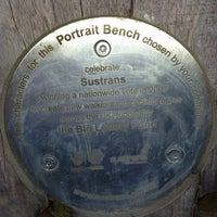 Photo taken at Portrait Bench by Graham H. on 6/21/2013