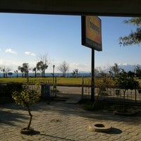 Photo taken at falez park bufe by Levent G. on 1/7/2013