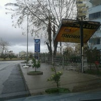 Photo taken at falez park bufe by Levent G. on 1/19/2013