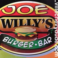 Photo taken at Joe Willy's Burger Bar by Lvillechevydude.com on 3/3/2013