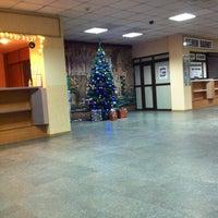 Снимок сделан в Готель «Турист» пользователем Anastasia Z. 12/21/2012