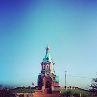 Photo taken at Свято-Никольский Храм by Alexandr M. on 7/15/2013