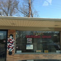 Photo taken at dakes barber shop by Phil B. on 4/6/2013