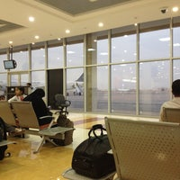 Photo taken at Prince Nayef Bin Abdulaziz International Airport (ELQ) by A7madooF A. on 5/8/2013