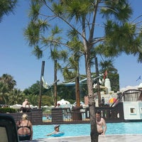 Photo taken at Club Alibey Beach by Simqe :. on 7/2/2015