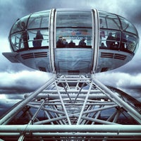 Photo taken at The London Eye by Salim L. on 6/24/2013