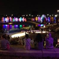 Photo taken at Vitruvian Park by Belinda R. on 12/2/2012