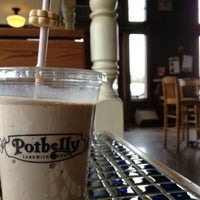 Photo taken at Potbelly Sandwich Shop by Carlos N. on 4/6/2013