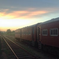 Photo taken at Trincomalee Railway Station by Vitally M. on 4/3/2016