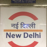 Photo taken at Delhi Aerocity Metro Station by Vitally M. on 5/4/2016