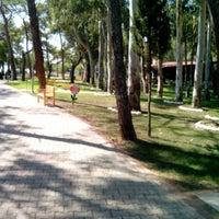 Photo taken at Sarısu Kadınlar Plajı by Raisa Ç. on 9/14/2014