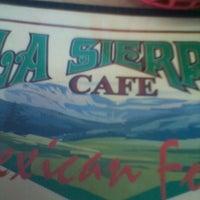 Photo taken at La Sierra Cafe by Crystal L. on 12/9/2012