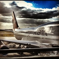 Photo taken at Virgin Atlantic Check-In by Nat D. on 10/2/2012