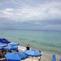 Photo taken at Almyra Beach Bar by Vasilis G. on 5/7/2013