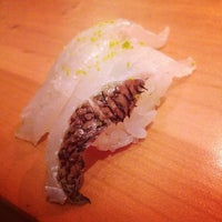 Photo taken at 旬魚・鮨 綾元 by Minako N. on 1/10/2014