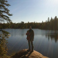 Photo taken at Algonquin Provincial Park - West Gate by Mayte ✌🏻️ M. on 5/26/2013