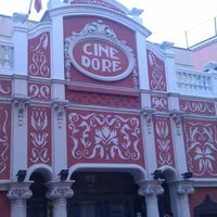 Photo taken at Cine Doré by David L. on 12/9/2012