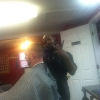 Photo taken at Faded Barbershop by Bernie W. on 1/12/2013