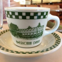 Photo taken at The Americana Diner by Robby S. on 9/13/2013