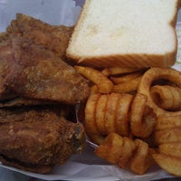 Photo taken at Curly's Fried Chicken by Tim H. on 12/2/2012