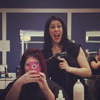 Photo taken at Entourage Hair Design by Kristina F. on 5/23/2015