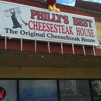 Photo taken at Philly's Best Cheesesteak House by Ross H. on 12/7/2011