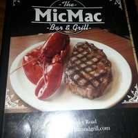 Photo taken at MicMac Bar And Grill by Michelle K. on 4/19/2013