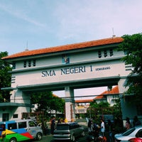 Photo taken at SMA Negeri 1 Semarang by J G. on 4/12/2015